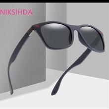 NIKSIHADA Men and women fashion2019 hot style sunglasses uv protection uv400 polarized driving