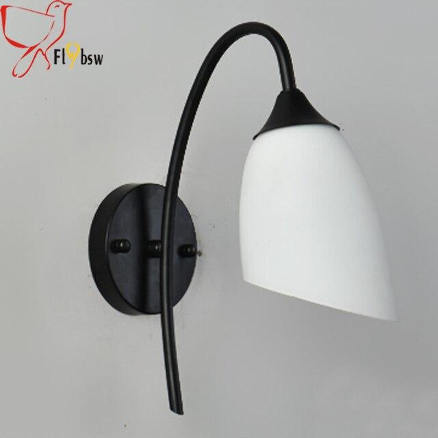 moderne led intrieur applique pour salle de bain chambre de chevet lampe luminaire blanc givr - Appliques Pour Salle De Bain