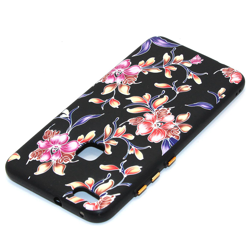 3D Relief flower silicone huawei P10 lite (29)