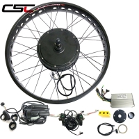 motor Rear snow wheel 26inch 4.0 Tyre 48v 500W 750W 1000W 1500W LCD Electric Fat Bike Conversion Kit electric bike kit