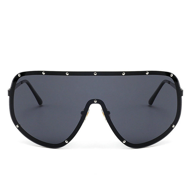 5b58ee260a MINCL Oversized XXL Huge Large Shield Wrap Designer Womens Polarized  Sunglasses -LXL