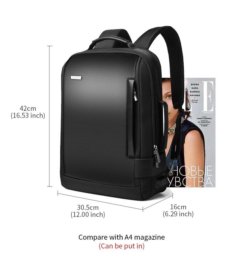 df6e0743d8 Laorentou Men Backpack Shoulder Bag Simple School Bag Travel Brand  Waterproof Backpack Notebook Computer Anti-thief USB Bag USD 32.03 piece