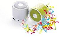 Finewin Śliczne Cylinder Przenośny Głośnik telefonu Głośnomówiącego Bluetooth Głośniki Bass Telefon Komórkowy Wysokiej Jakości