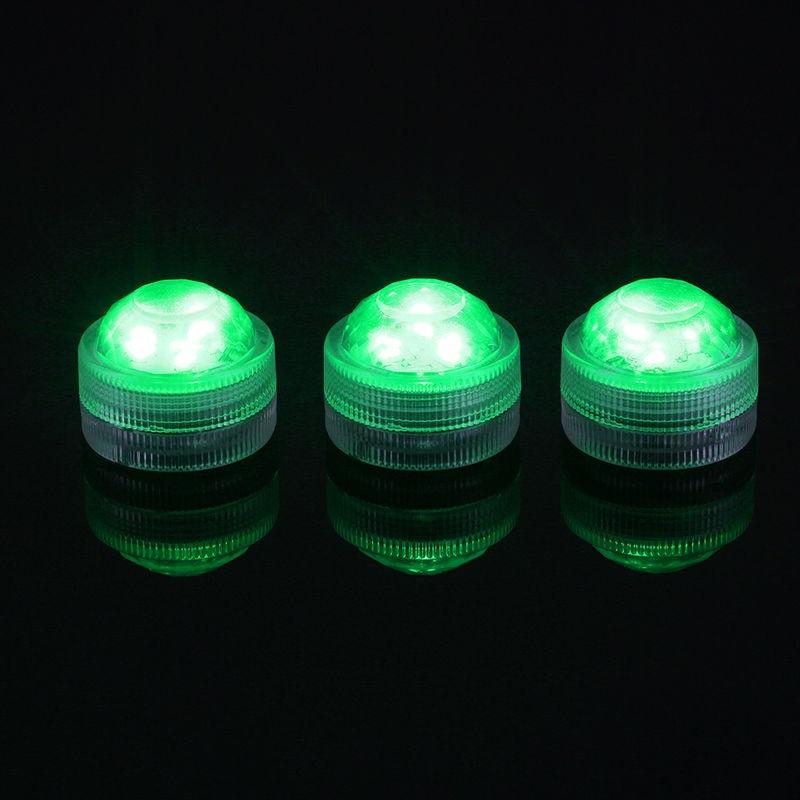 10pcs / lot LED lampu hiasan untuk tanglung kertas Super Bright 3 LED - Pencahayaan perayaan - Foto 5