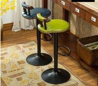 American bar sedia. rotazione di sollevamento in legno massello sedia. il piede sgabello. sedia del caffè