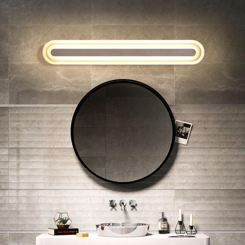 Modern Led wall lamp bathroom mirror lights sconce bedroom living room headboard luminaire lamparas de pared lighting fixture