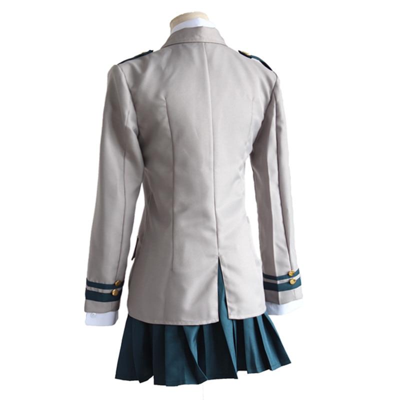 Brdwn My Hero Academia Unisex Izuku Midoriya Shoto Todoroki Cosplay Costume school uniforms suit top pant skirt tie shirrt in Anime Costumes from Novelty Special Use