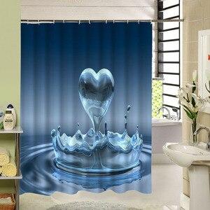 Image 3 - הקלאסי חותמת עם ורוד ולבן פרחי בציר עיצוב מקלחת וילונות אמבטיה לרחצה דקור באיכות גבוהה