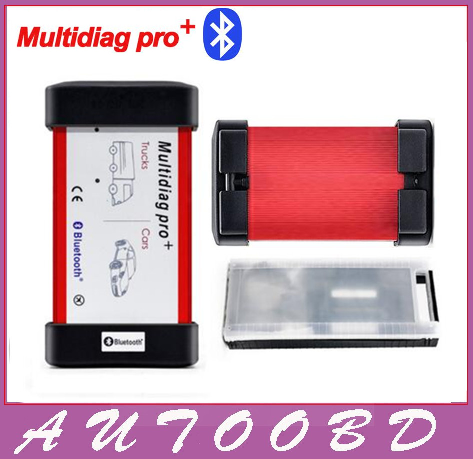 2016 TCS CDP PRO Plus Bluetooth Multidiag pro plus Plastic box multi language Multi Diag pro