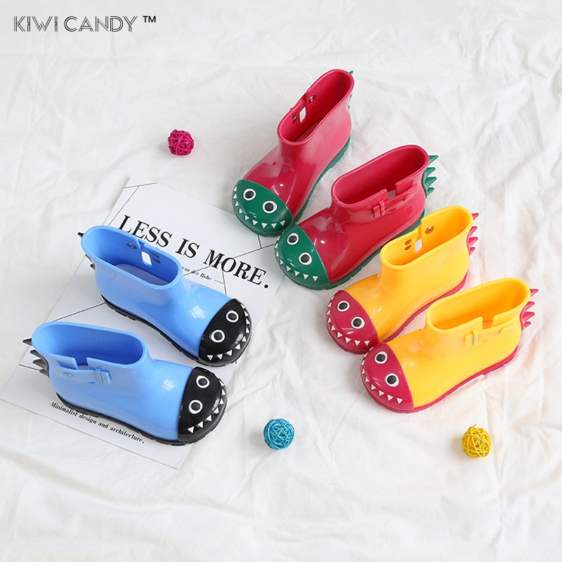 kids shoes girls boys shark dinosaur rain Boots mini lovely baby little adorable fashion ...