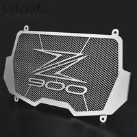 BJMOTO 2017 Stainless Steel Motorcycle Radiator Grille Guard For Kawasaki Z900 Z900 ABS 2017 High Quality