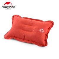 Almohada de escalada al aire libre Naturehike  almohada inflable portátil de poliéster  almohada de aire para siesta NH