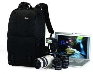 Image 5 - מקורי Lowepro Fastpack 350 FP350 SLR דיגיטלי מצלמה כתף תיק 17 אינץ מחשב נייד עם כל מזג אוויר כיסוי גשם