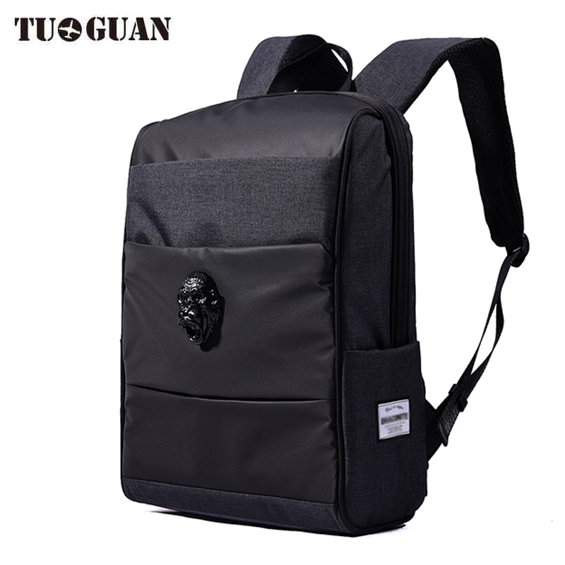 China Famous Brand Vintage Men Waterproof Backpack Laptop Computer Bags Casual Travel Bagpack School Back Pack for Male Boys