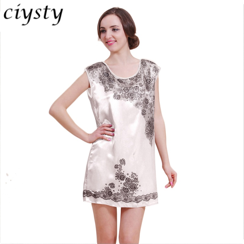 Nightgowns Sleepshirts 2018 Plus Size Silk Lady Sleepwear Dressing Gown Female Home Brand Bathrobe Intimissimi Leisure Homewear