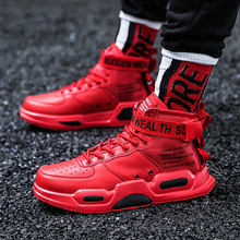 WINDRIDERISM  Designer Sneakers Men Spring Autumn Lace Up Shoes High Top Sneakers Mens Casual Shoes Lightweight Red Flats Shoes satin high top candy casual rainbow ladies harajuku flats elevator designer shoes women luxury 2018 lace up sneakers patchwork