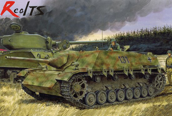 RealTS 1/35 Dragon Jagdpanzer IV L/48 July 1944 Production w/Zimmerit # 6369 realts dragon 6746 1 35 flak 43 flakpanzer iv ostwind w zimmerit