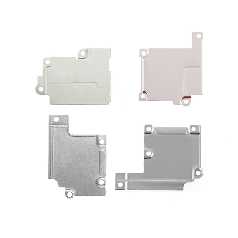 5pcs LCD Screen Flex Spacer Metal Holder Bracket For iPhone 5 5S 5C 6 6S Plus 7 Plus 4.7 5.5 Battery Metal Cover Bracket image