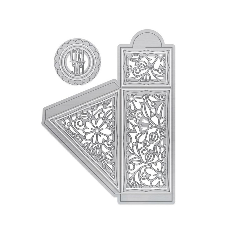 Naifumodo Box Metal Cutting Dies Craft Frame Die Christmas Day New 2019 Frame Dies Scrapbooking for Card Making DIY Diecut in Cutting Dies from Home Garden