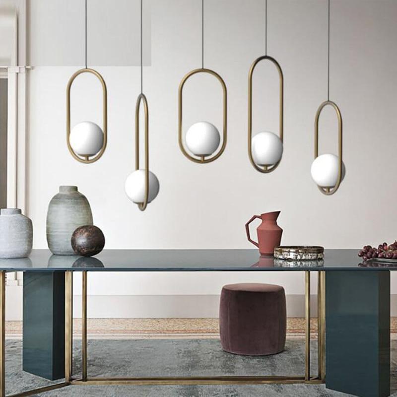 Postmodern Creative Italy Designer Pendant light Art Loft Dining Room Coffee Shop Hanging Lights Bar Bedside Led Lights