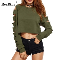 RealShe 2017 Women S T Shirts Round Neck Top T Shirt For Women Plus Size Harajuku