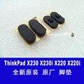 Original para lenovo thinkpad x220 x220i x220t x230 x230i x230t estera de goma pad cuerno