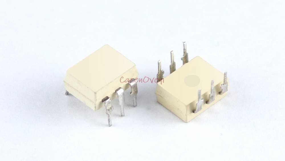 10pcs/lot MOC3051 DIP-6 OPTOCOUPLER TRIAC-OUT New Original In Stock