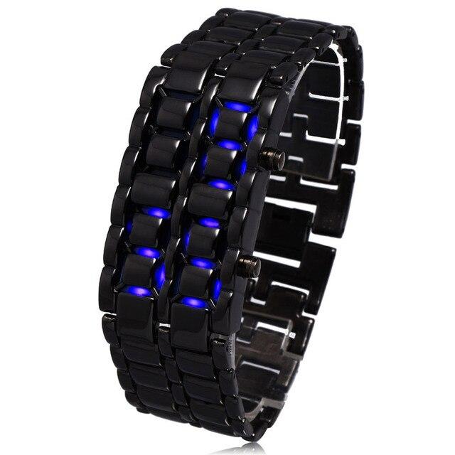 Fashion Lava Sport Men Luxury Quartz Movement Women Unisex Bangle Electronic Ste