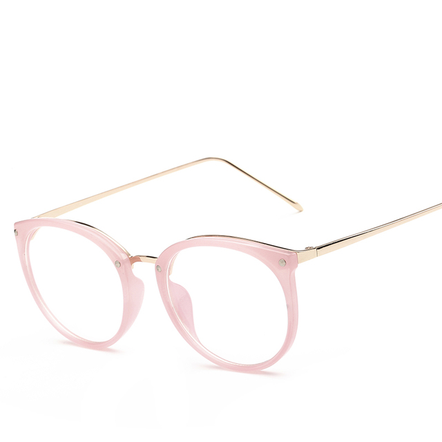Eyewear Frames Optical Glasses Frame Eyeglasses Frame myopia round metal men women unisex spectacles eye glasses oculos de grau