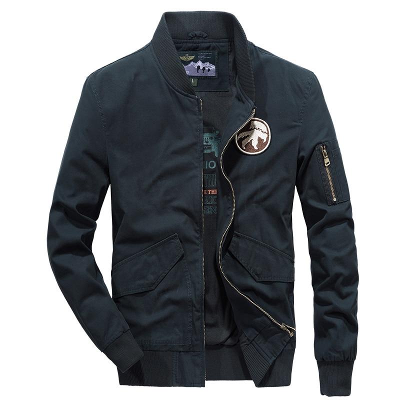 Nouveauté militaire AFS JEEP vestes décontractée et manteaux veste militaire hommes col montant coton automne marque armée vêtements