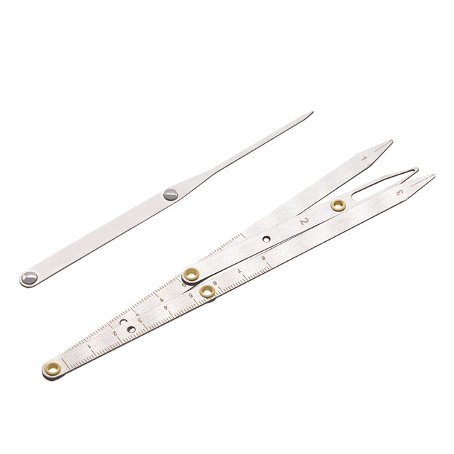2020 Sale Microblading Tattoo Eyebrow Ruler Stainless Steel Golden Ratio Permanent Makeup Symmetrical Tool Divider Accesories 3