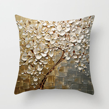 Floral Printed Pillow Case Decorative Cushion Cover Square Throw Pillowcase Sofa Car Home Decoration