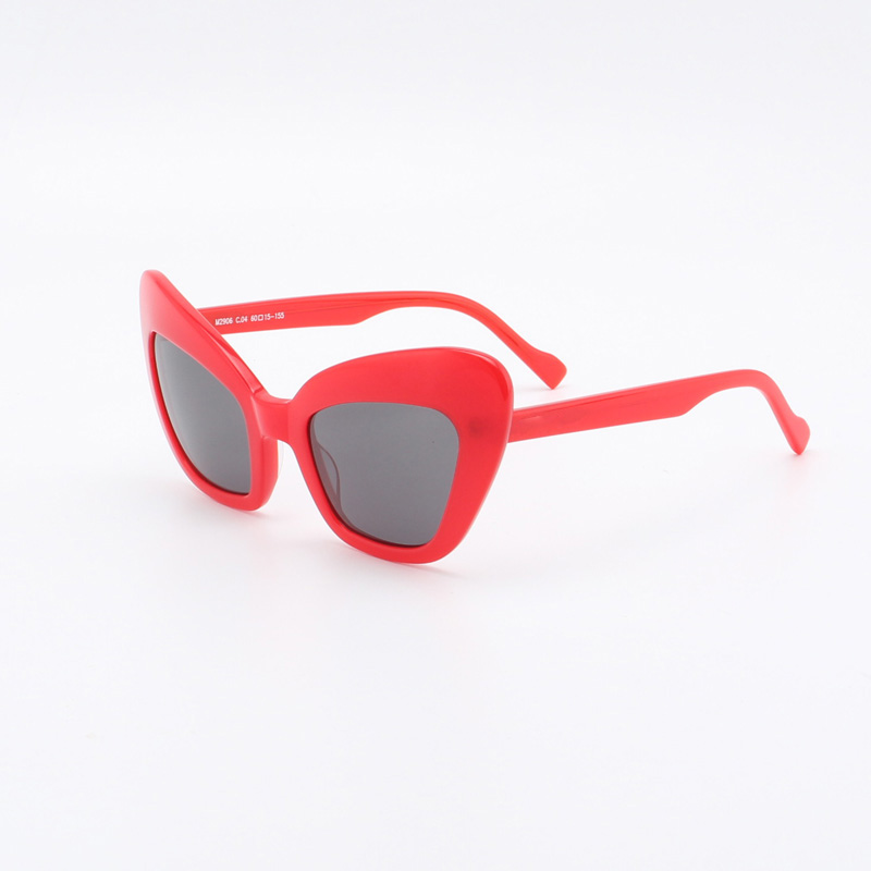 M2906 Sonnenbrille Uv400 Cateye Neue Acetat Stil nwq0g80pX