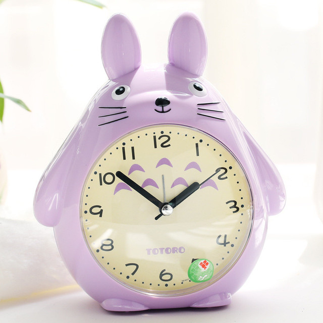 Totoro Quartz Table Clock (3 Colors)