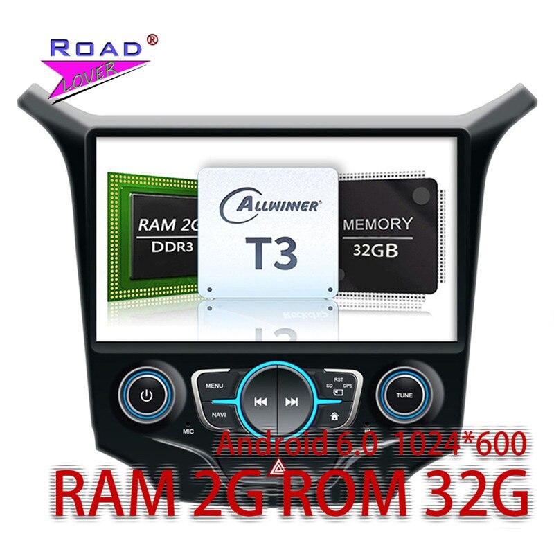Wanusual 2 г + 32 ГБ Android 6.0 автомобилей медиа-центр плеер для Chevrolet Cruze 2015 стерео GPS навигации емкостный сенсорный экран WIFI