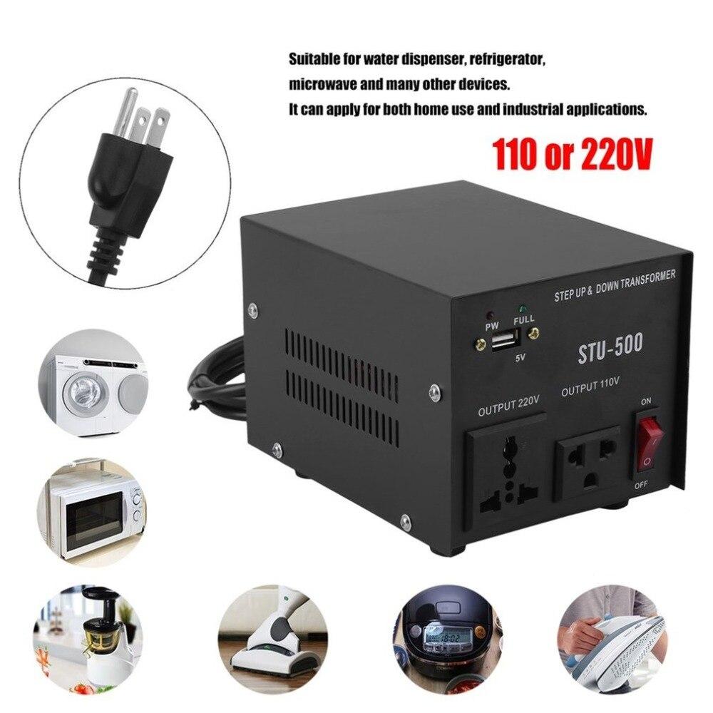 Professional 220V 110V Step Up & Down Transformer Electrical Voltage ...