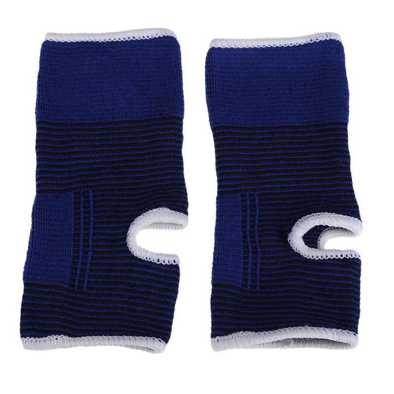 2pcs Cloth Ankle Protects Elastic Ankle Brace Support Band Sports Gym Protects Therapy football shoes ankle protector