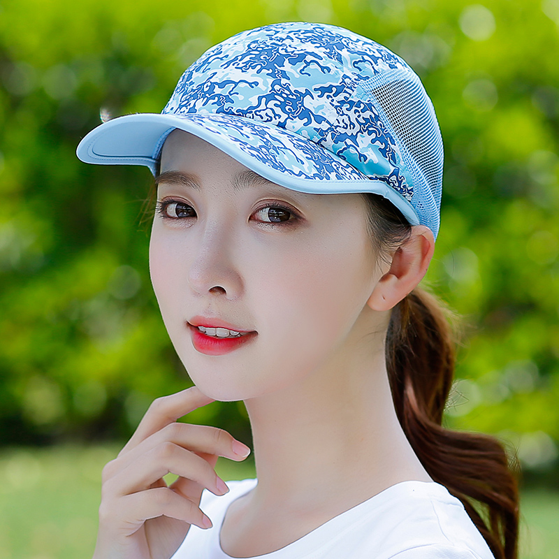 Summer Wild Baseball Cap Breathable Net Yarn Travel Sun Hood Outdoor Mountain Climbing Sun Hat Unisex