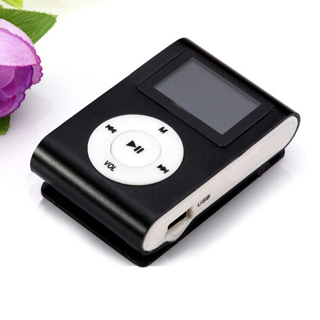 2018 Top Sale Fashion Mini Mp3 Usb Clip Mp3 Player Lcd Screen