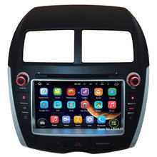 Quad Core 1024*600 8″ Android 5.1.1 Car DVD Video Player Radio Stereo GPS Map BT FM DAB+ 3G/4G WIFI For Mitsubishi ASX 2010-2012