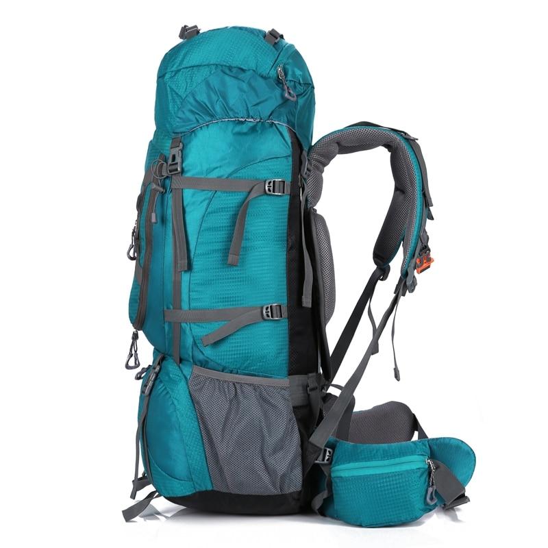 80L camping en plein air sac à dos randonnée escalade Nylon sac Superlight Sport voyage paquet marque sac à dos sac à dos sacs à bandoulière 299 - 2