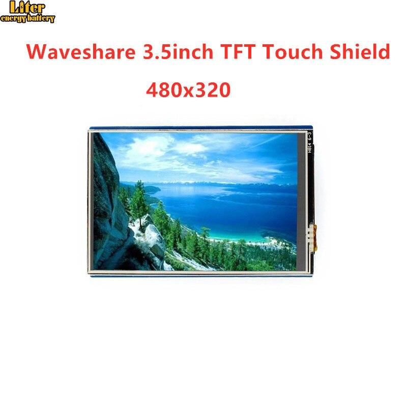 Écran tactile LCD 3.5 pouces pour Arduino résistif 480x320 résolution Standard interface Arduino contrôlée via fente Micro SD SPI