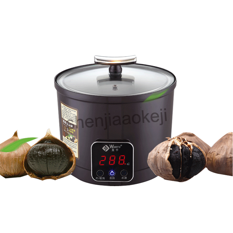 6L Intelligent Touch Screen Fermenting Black Garlic Machine For Household And Commercial Food Processor With Off Memory 220v90w wavelets processor