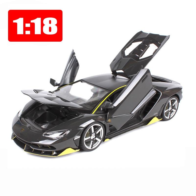 1:18 LP770 4 aleación Static Maisto modelo simulación Centenario deportes coche Edición Conmemorativa modelo caja de Color Paquete de juguetes de regalo-in Troquelado y vehículos de juguete from Juguetes y pasatiempos    1