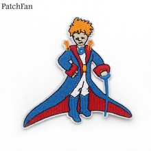 A0255 Patchfan Le Petit Prince Embroidered Patch Sewing Applique for Jacket Jeans Shoes Backpack Badges