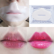 5Pcs Enhancer Lip Mask Crystal Collagen Lips Mask Patches Pads Lip Plumper Anti Wrinkle Moisturizing Lip Care Beauty Comsmetic