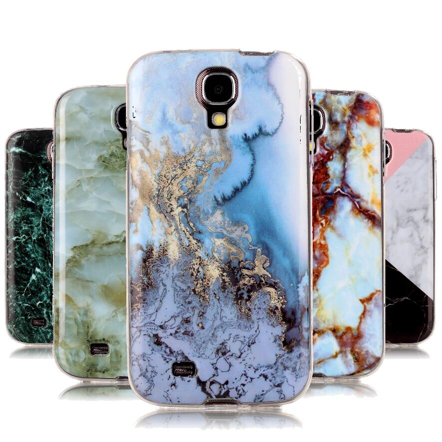 Luxury Marble Stone Case Sfor Coque Samsung Galaxy S4