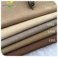 Worsted Wool Fabric Beige Winter 2016 Small Suit Cloth Pants Vest Uniform Solid Material