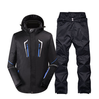 Plus size Jacket and pant Men's Snow Suit Wear outdoor sports special Snowboarding Clothing windproof waterproof Ski suit sets