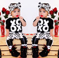 Toddler Newborn Baby Kids Girls Outfits T-shirt Tops+Pants Clothes Fashion Suit
